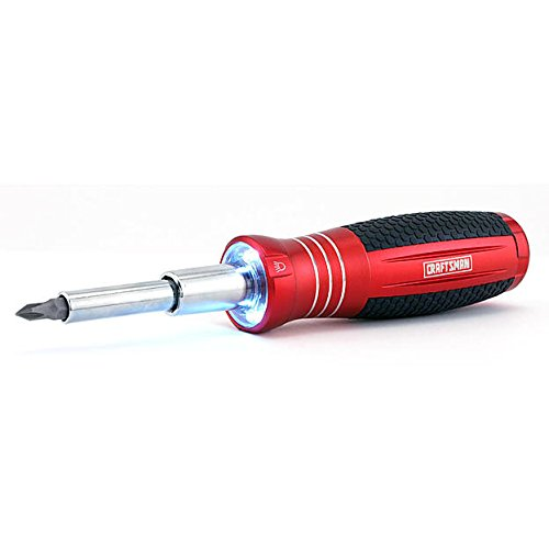 Craftsman 6-in-1 LED Screwdriver, 9-35722 by Craftsman