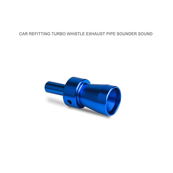 BAAQII Universal Car Turbo Sound Blowoff Simulator Silenciador de Escape Pipe Whistle Blow-Off Valve Fitment para Todos los vehículos Modelos: Amazon.es: ...