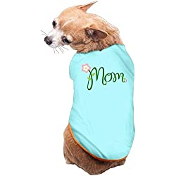 Dog Cat Pet Shirt Clothes Puppy Vest Soft Thin MOM 3 Sizes 4 Colors Available