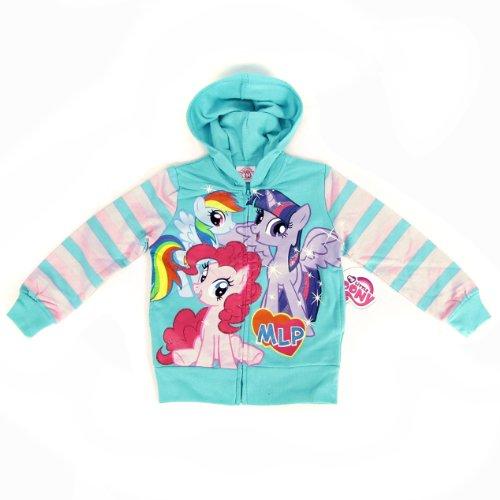 7e43de6bf695 My Little Pony Rainbow Dash Pinkie Pie Twilight Sparkle Girls Hoodie ...