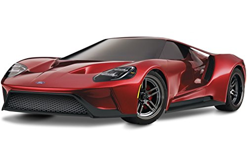 Traxxas 1/10 4WD Ford GT Vehicle with TQ 2.4GHz Radio System, Liquid Red (Best 4wd In The World)