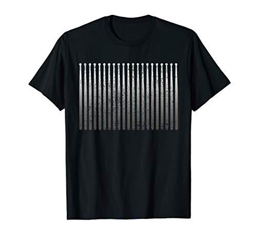 Drums T Shirt Musician Drummer Tshirt Drumsticks Tee