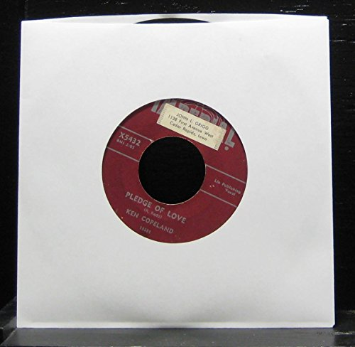 Ken Copeland / The Mints - Pledge Of Love / Night Air - Lp Vinyl Record