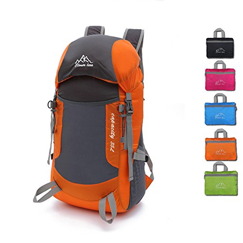 SAMI STUDIO Hiking Backpack Ultra Lightweight Packable Backpack Water Resistant Daypack Small Backpack Handy Foldable Camping Outdoor Backpack Little Bag