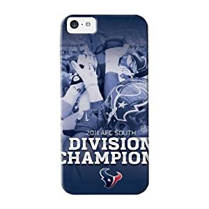 Crooningrose High Quality Shock Absorbing Case For Iphone 5C Coverhouston Texans