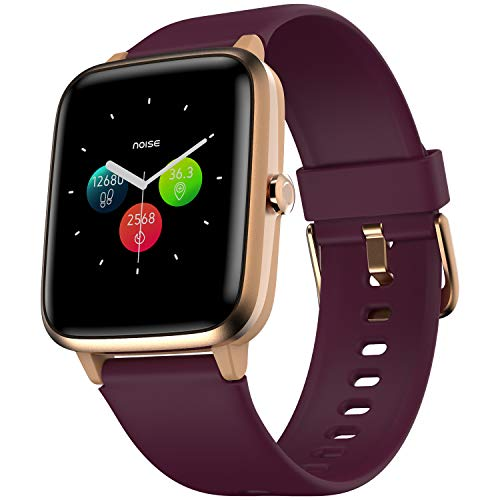 Noise Colorfit Pro 2 Full Touch Control Smart Watch (with Cloudbased Watch Faces) – Deep Wine