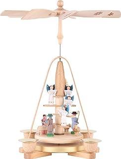 Kinderpyramide mit Ruprecht u.Spielzeug Höhe ca 33 cm NEU Tischpyramide Weihnach