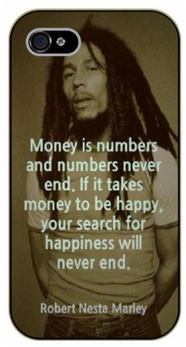 Iphone 4 4s Bob Marley Quotes Money Is Numbers And Numbers Never
