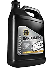 Sun Joe SWJ-Oil-GAL Premium Bar, Chain and Sprocket Oil, All Season Chainsaw Chain Lubrication, Universal Chain Saw Chain Oil for Fast Efficient Cutting – 1-Gallon