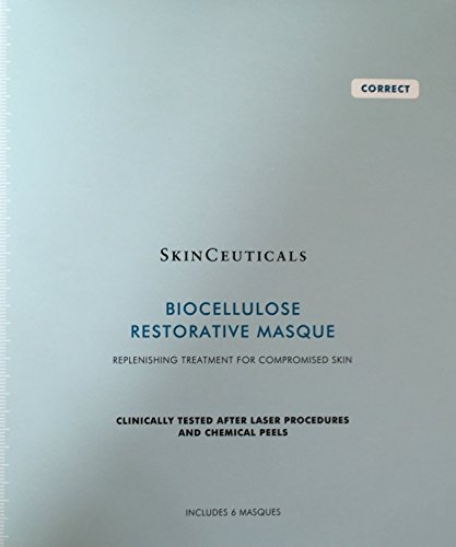 SkinCeuticals BIOCELLULOSE RESTORATIVE MASQUE - 6/6 packs by SkinCeuticals