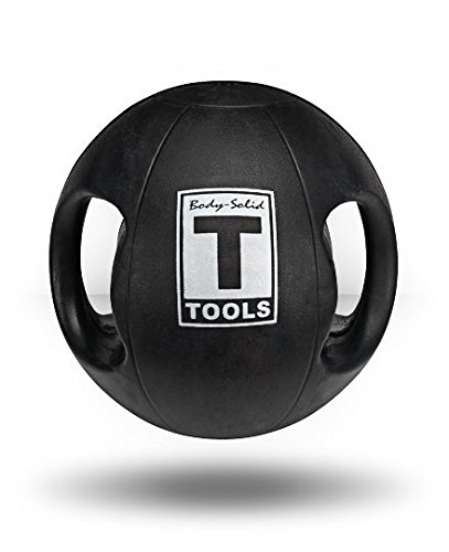 Body-Solid Tools Dual Grip Medicine Ball 25lb by Body-Solid