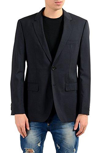 Hugo Boss Rider Men's Black Wool Blazer Sport Coat US 38R IT 48R