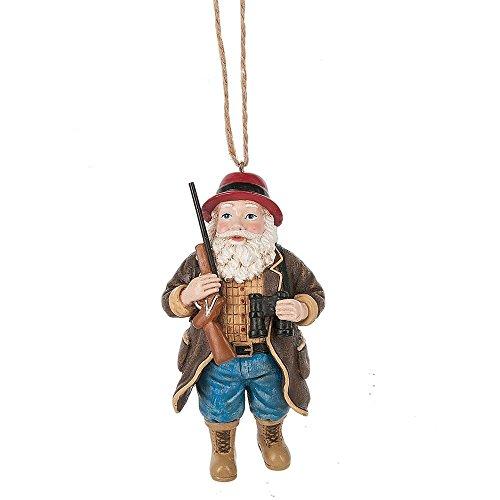 Midwest Seasons 2017 Santa Hunter Ornament (2017 Reviews Tree Christmas)