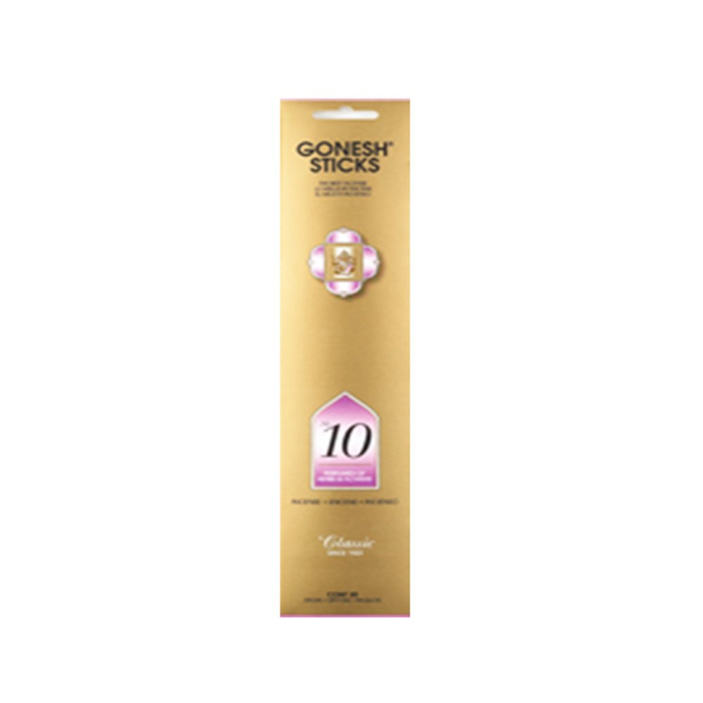 Gonesh Incense No 10 - Perfumes of Herbs &花( 20 Sticks in 1パック) 2201108 B074KFWPZK
