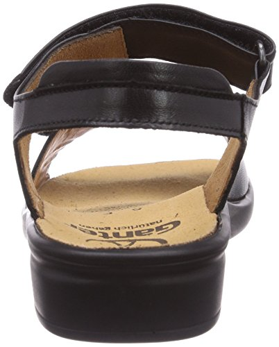 Womens Toe Sandals Black Schwarz0100 Schwarz Open Sonnica e Ganter nqfABPwExI