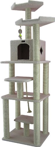 Armarkat-Cat-tree-Furniture-Condo-Height-75-Inch-and-Up