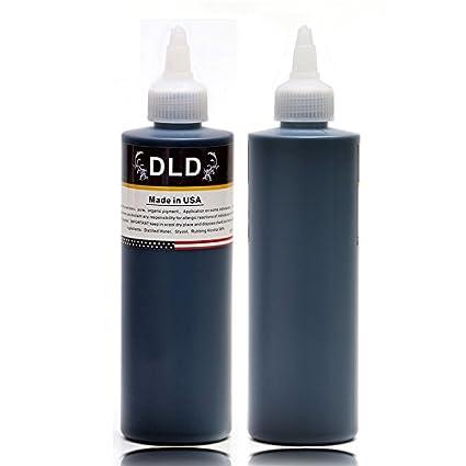 Profesional 1 Botella DLD súper tinta del tatuaje para el forro y ...