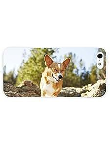 3d Full Wrap Case for iPhone 5/5s Animal Happy Corgi