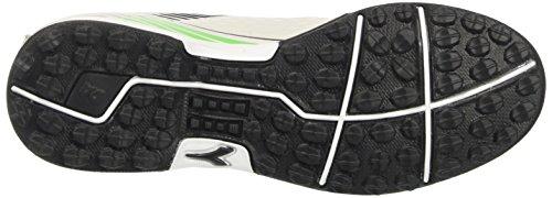 Diadora 7fifty Tf, Zapatillas de Fútbol Sala para Hombre Gris (Grigio Vaporoso/nero Corvo)