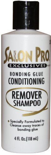 Salon Pro Bonding Glue Remover Shampoo 4 Oz
