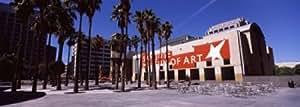 Panoramic Images – Art museum in a city, San Jose Museum Of Art, Downtown San Jose, San Jose, Santa Clara County, California, USA Artistica di Stampa (68,58 x 22,86 cm)