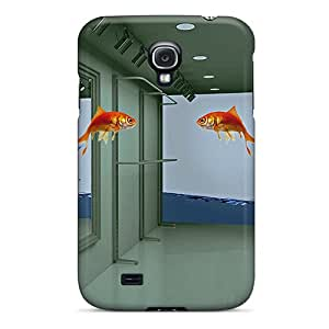 Modernlistyle Premium Protective Hard Cases For Galaxy S4- Nice Design - 3d Flying Fish