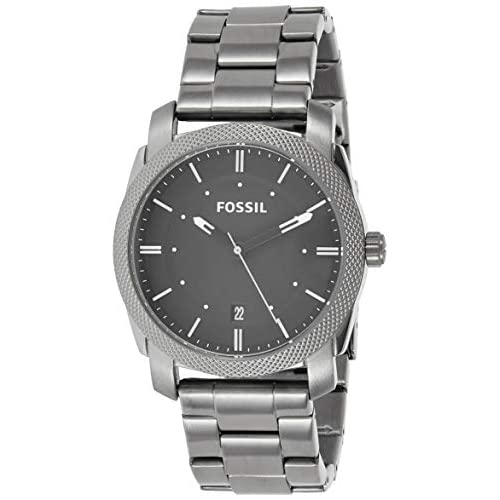 Fossil Men's Machine Stainless Steel Quartz Watch