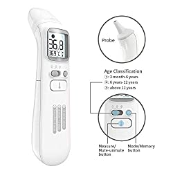 Digital Infrared Baby Thermometer - AISIMEE Forehead Thermometer for Kids - Medical Digital Infrared Forehead Thermometer for Fever - Instant Accurate Readingfor Baby Kids and Adults