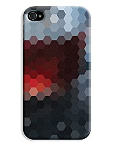 Hexagonal Glass Mosaic Case for your iPhone 4/4s