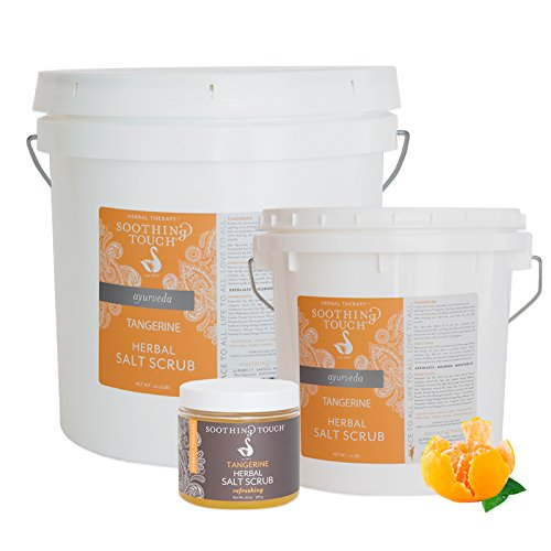 Soothing Touch Herbal Salt Scrub, Tangerine, 10 Pound ()