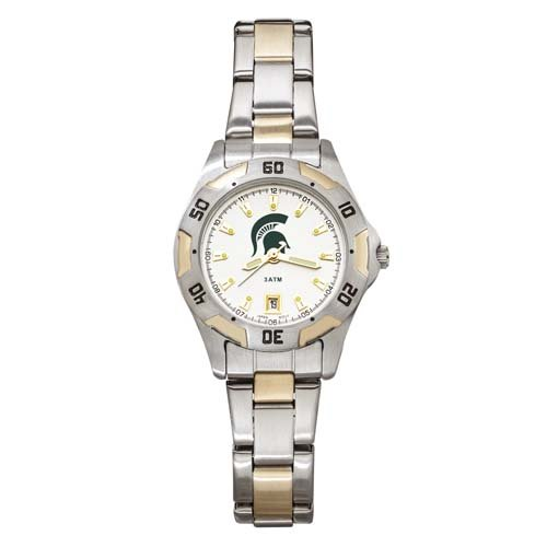 NCAA Michigan State Spartans Women's All-Pro Two-Tone Watch ()