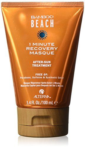 Alterna Bamboo Beach 1 Minute Recovery Masque for Women Treatment, 3.4 Ounce (Bamboo 1)