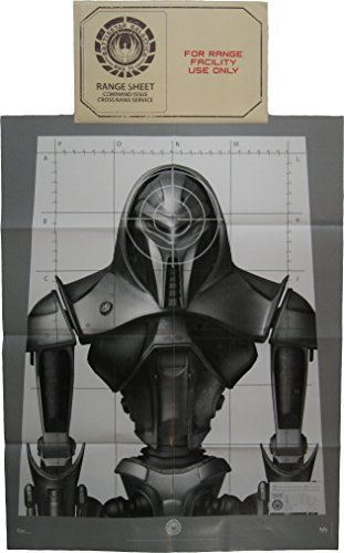 June 2015 Cyber Loot Crate Battlestar Galactica Cylon Target 17x22 Inch Poster in Range Facility Envelope by Quantum Mechanix