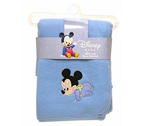 (Disney Baby Mickey Mouse Applique Soft Fleece)