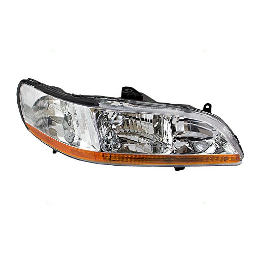 Passengers Headlight Headlamp Replacement for Honda (A02 Headlamp)