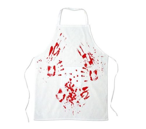 Spinning Hat Blood Bath Butcher's Apron ()