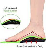 High Arch Support Insoles for Men Women