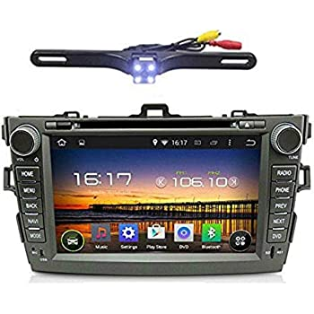 TOCADO Car Stereo with Backup Camera in-Dash Car Radio 2 Double Din Android 7.1 Touch Screen 8