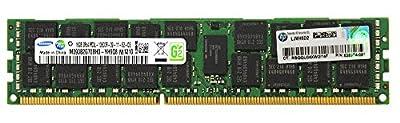 HP Genuine Samsung Original 16GB (1x16GB) Server Memory Upgrade for HP Proliant Gen7 Servers 628974-081 DDR3 1333Mhz PC3L-10600 ECC Registered 2Rx4 CL9 1.35v DRAM RAM
