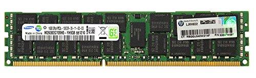 HP Genuine Samsung Original 16GB (1x16GB) Server Memory Upgrade for HP Proliant Gen7 Servers 628974-081 DDR3 1333Mhz PC3L-10600 ECC Registered 2Rx4 CL9 1.35v DRAM (10600 Ecc Registered Single)