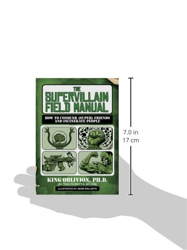 The Supervillain Field Manual: How To Conquer (Super) Friends And Incinerate People - Isbn:9781620876336 - image 3