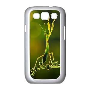 Praying Mantis DIY Cover Case for Samsung Galaxy S3 I9300,personalized phone case ygtg-310974 Kimberly Kurzendoerfer