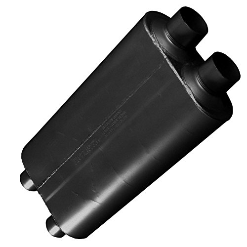 Flowmaster 527504 50 Big Block Muffler - 2.75 Dual IN / 2.50 Dual OUT - Mild Sound
