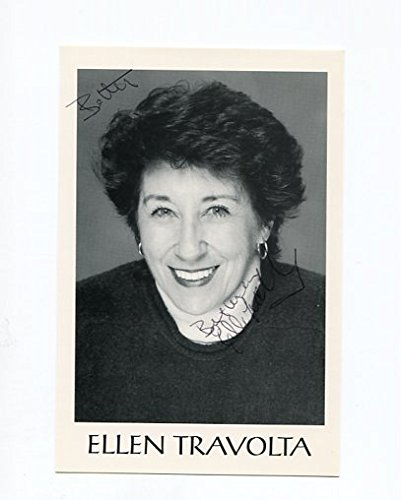 ELLEN TRAVOLTA-4X6-AUTOGRAPHED CARD-GENERAL HOSPITAL-CHARLES IN CHARGE
