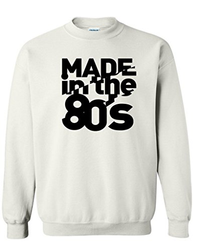 Made in the 80s Crew Neck Soft and Comfortable Sweatshirt. 7 Colors - S to 3XL