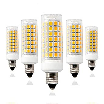 E11 Led Bulbs 75w Or 100w Equivalent Halogen Repalcement