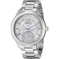 Movado Women's 0660004 Analog Display Swiss Quartz Silver Smartwatch