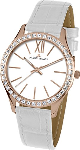 Jacques Lemans ROME 1-1841O Wristwatch for women With Swarovski crystals