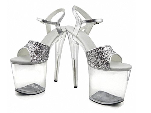 De et MNII Accessoires Élégant Et 42 Heels The De Gold Simple Hauts beau Fashion Nightclub Rose Stage MariéE FéMinins Sandals Party Performance Robe Les Talons BwfnE6xrBq