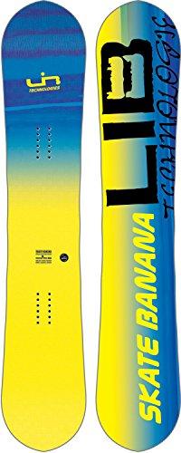 Lib Tech Banana - Lib-Tech - Mens SK8 Banana Snowboard 2018, Yellow, 154